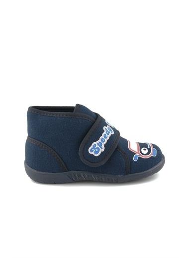Cicibebe Erkek Çocuk Ev Ayakkabısı Lacivert